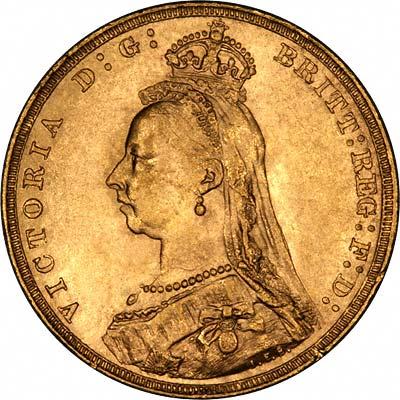 1891 Gold Sovereign