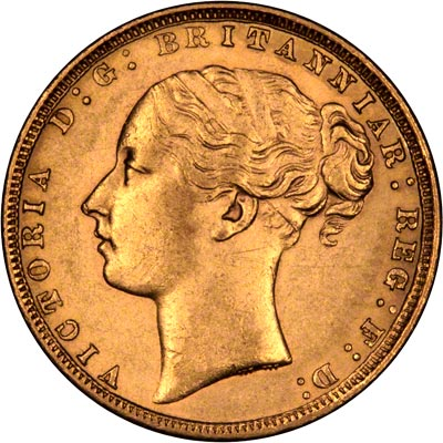 Victoria Young Head Sovereigns Were Struck In Coin Alignment Rather Than Medal Alignment