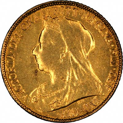 Very Obvious Fake Victoria Half Sovereign Obverse