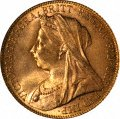 Victoria Old Head Sovereigns