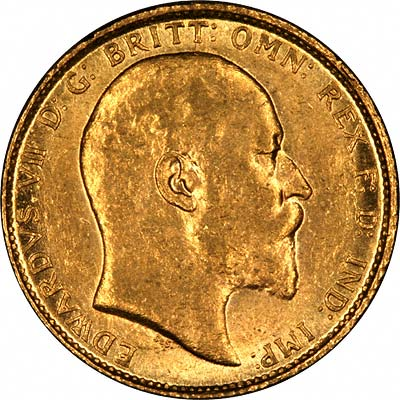 Obvious Fake Edward VII Obverse