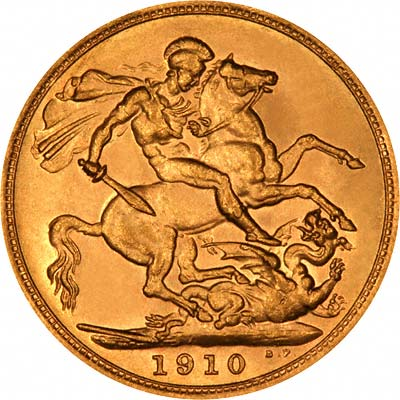 1910 Gold Sovereigns - Edward VII