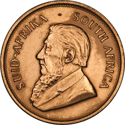 Obverse of 1970 South African Krugerrand