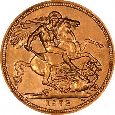 Reverse of 1978 Sovereign
