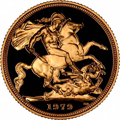 Reverse of 1979 Proof Sovereign
