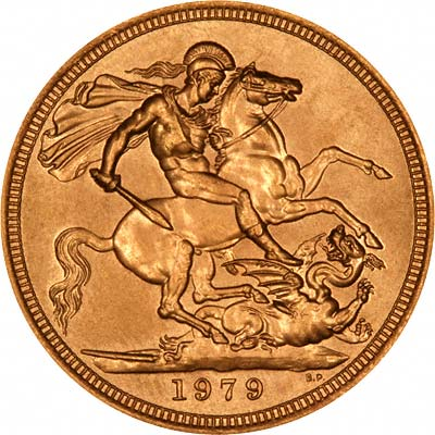 Reverse of 1979 Sovereign