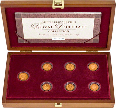 The Royal Portrait Collection by The Royal Mint