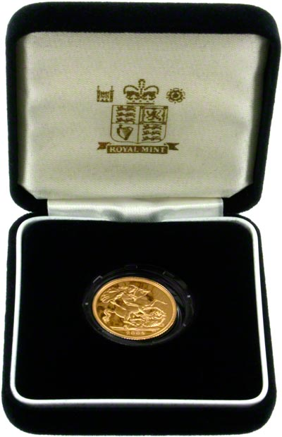 2004 Proof Sovereign in Presentation Box