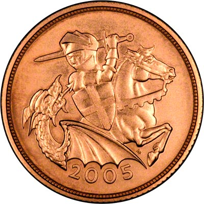 Reverse of 2005 Sovereign