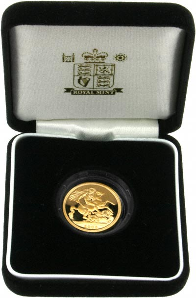 2006 Proof Sovereign in Presentation Box
