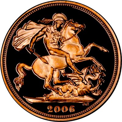 Reverse of 2006 Proof Sovereign