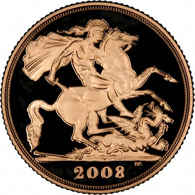 Reverse of 2008 Proof Sovereign