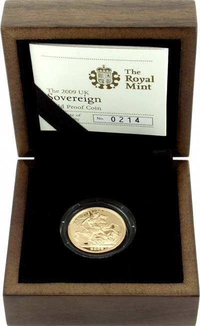 Proof Sovereign in Presentation Box