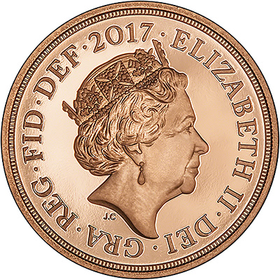 2017 proof sovereign obverse