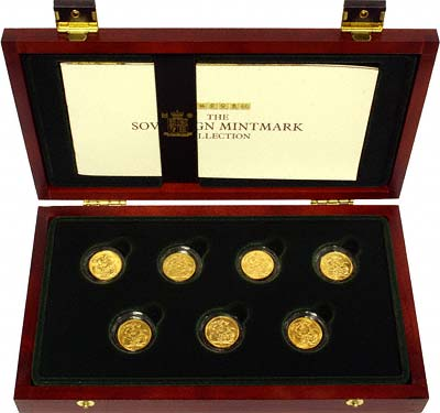 The Sovereign Mintmark Collection by The Royal Mint