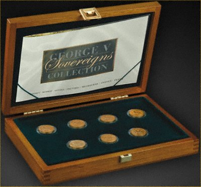The Royal Mint's George V Sovereigns Mintmark Collection