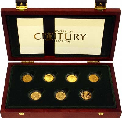 The Sovereign Century Collection by The Royal Mint